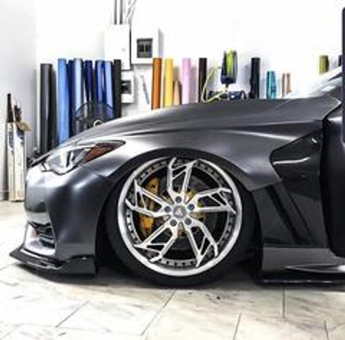 2017+ Q60 Coupe SBGT CF Fenders