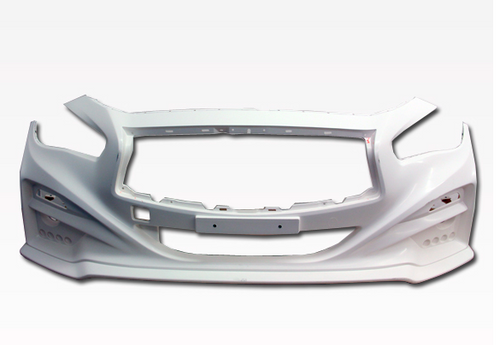 14-15 Infiniti Q50 4Dr Immense Style Front Bumper