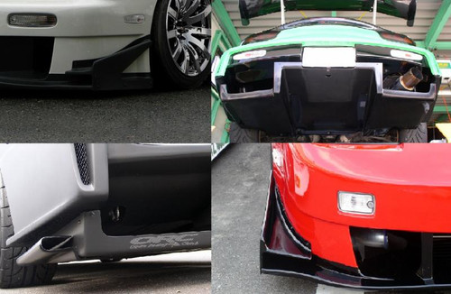URAS S14 TYPE-GT REAR UNDER DIFFUSER