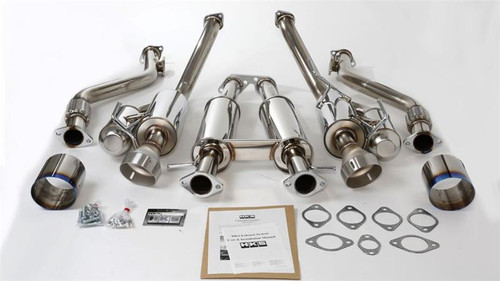 HKS Hi-Power Exhaust, Dual Exhaust (370Z) 09+ (32009-BN004)