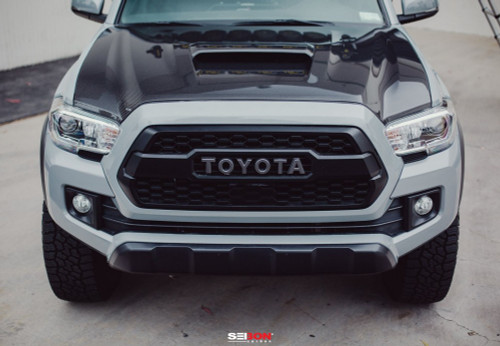 TR-STYLE CARBON FIBER HOOD FOR 2016-2019 TOYOTA TACOMA