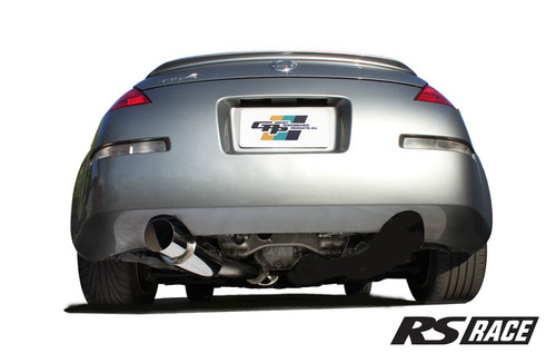Greddy RS Race Exhaust 350Z w/ Y Pipe (Single Exit)