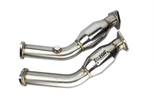 ISR Performance Stainless Steel Resonated Testpipe - Nissan 350z Z33 (IS-RSTP-Z33)
