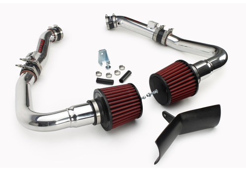 2007-08 INFINITI G35 SEDAN - DUAL ULTRA LONG TUBE AIR INTAKE KIT [GEN 3] - DRY FILTER