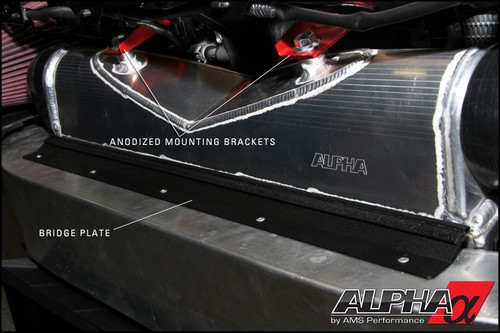 Alpha Performance R35 GT-R Race Front Mount Intercooler Upgrade
