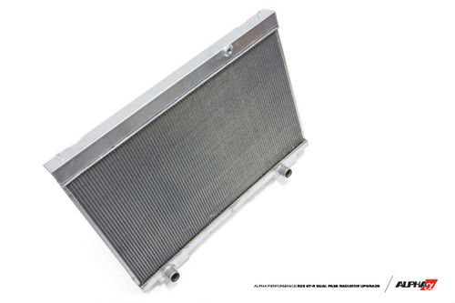 Alpha Performance R35 GT-R Dual Pass Radiator Upgrade