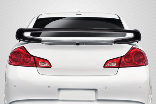 2007-2013 Infiniti G Sedan G25 G35 G37 Carbon Creations Elite Rear Wing Trunk Lid Spoiler - 1 Piece
