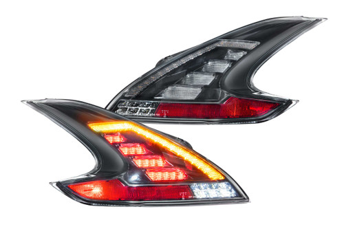 XB LED Tails: Nissan 370Z (09-20) (Pair / Smoked) (LF419)