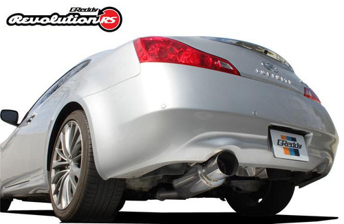 Greddy Revolution RS G37 Coupe Cat Back Single Exit Exhaust
