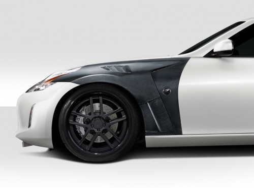 2009-2020 Nissan 370Z Z34 Carbon Creations RS-1 Front Fenders
