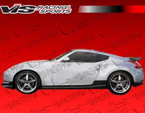 2009-2016 Nissan 370Z 2Dr Techno R Carbon Fiber Side Skirts