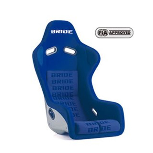 Bride FRP Zeta III Type-L Racing Bucket Seat Blue Logo