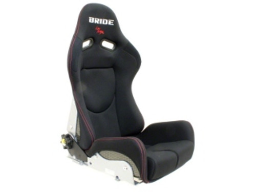 Bride GIAS II Low Max Reclining Racing Seat Plain Black