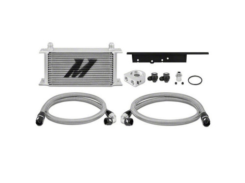Mishimoto Oil Cooler Kit Silver Nissan 350Z 03-09/ Infiniti G35 03-07 Coupe