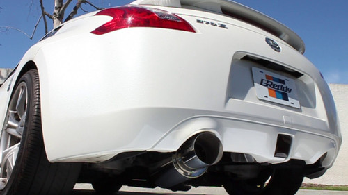GReddy Revolution RS Exhaust (Single Exit): Nissan 370Z 09+