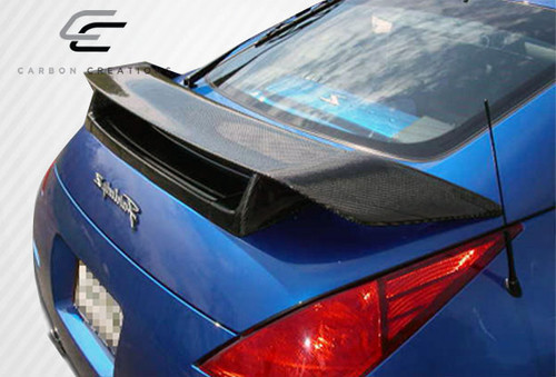 2003-2008 Nissan 350Z 2DR Coupe Carbon Creations N-1 Wing Trunk Lid Spoiler - 1 Piece