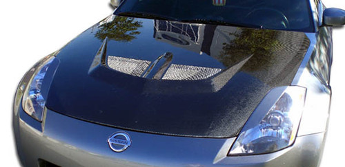 2003-2006 Nissan 350Z Carbon Creations Evo Hood - 1 Piece