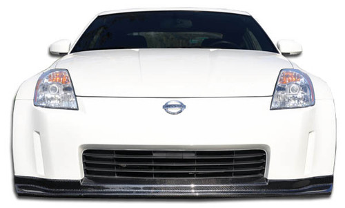 2003-2005 Nissan 350Z Carbon Creations N-1 Front Lip Under Spoiler Air Dam - 1 Piece