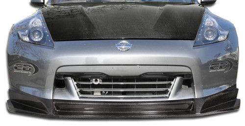 2009-2012 Nissan 370Z Carbon Creations SL-R Front Lip Under Spoiler Air Dam - 1 Piece