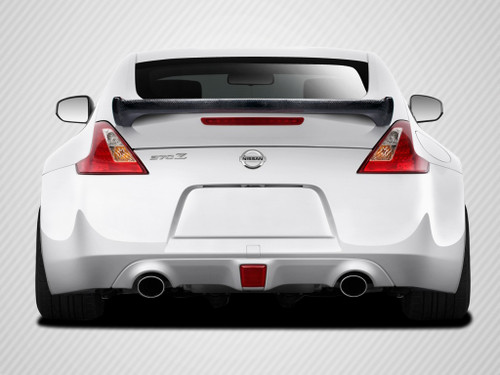 2009-2017 Nissan 370Z Coupe Carbon Creations N-1 Wing Trunk Lid Spoiler - 1 Piece