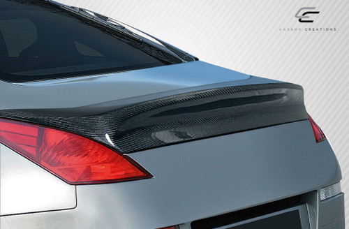 2003-2008 Nissan 350Z 2DR Coupe Carbon Creations I-Spec Wing Trunk Lid Spoiler - 1 Piece