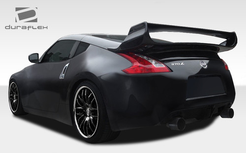 2009-2017 Nissan 370Z Coupe Duraflex Vader 3 Rear Wing Trunk Lid Spoiler - 1 Piece