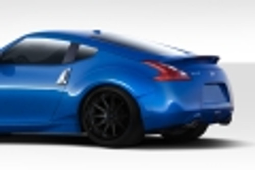2009-2013 Nissan 370z Duraflex 75mm Circuit Rear Fender Flares - 2 Piece