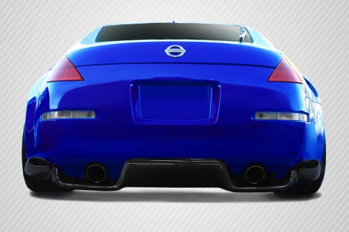 2003-2008 Nissan 350Z Carbon Creations TS-1 Diffuser - 6 Piece
