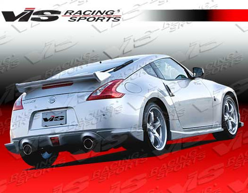 2009-2016 Nissan 370Z 2dr Techno R Fiber Glass Spoiler. All Vis fiberglass Body Kits; bumpers, Lips side skirts, spoilers, and hoods are made out of a high quality fiberglass. All Body Kits come with wire mesh if applicable. Professional installation required. Picture shown is for illustration purpose only. Actual product may vary due to product enhancement. Modification of part is required to ensure proper fitment. Test fit all Body Kit parts before any modification or painting. Accessories like fog lights, driving lights, splitter, canards, add-on lip, intake scoops, or other enhancement products are not included unless specified in the product description. Intended for OFF ROAD use only.