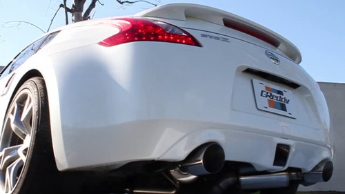 GReddy EVOlution GT Exhaust: Nissan 370Z 09+