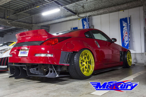 Mercury Z Project GT3 Rear Diffuser Z33/350z