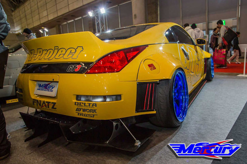 Mercury Z Project z33 350z Rear Fenders