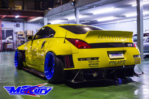 Mercury Z Project GT3 Rear Spoiler Wing z33 Nissan 350z