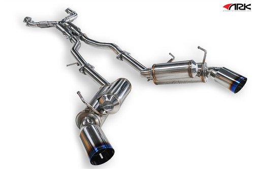 Infiniti G35 Coupe (03-06) VQ35, RWD ARK GRiP Collection (Cat-back Exhaust)