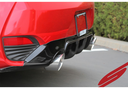 Infiniti Q60 Exhaust - Cat Back w/ Polished Tips