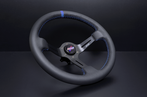BLUE LEATHER RACE WHEEL (LIMITED EDITION BLUE)