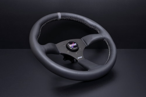 GRAY LEATHER TOURING WHEEL