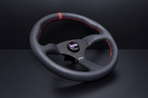 RED LEATHER TOURING WHEEL