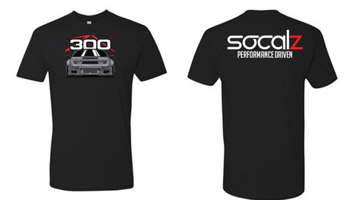 Socal Z x Project 10 Boosted 300ZX Design