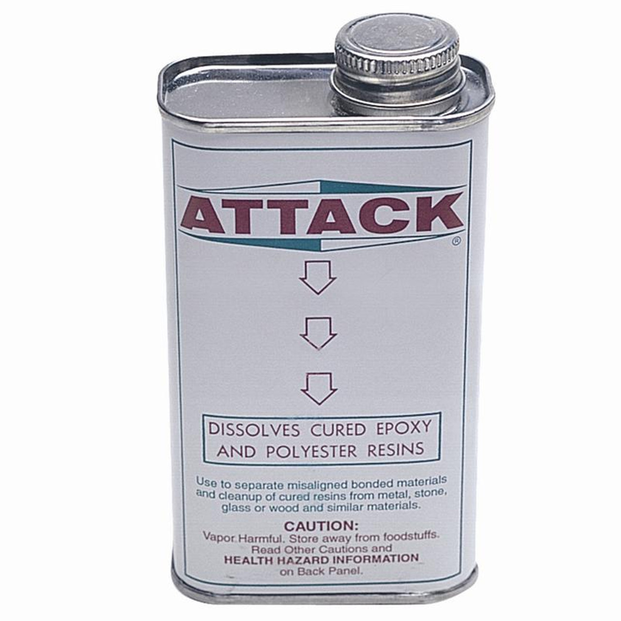 Attack Epoxy Resin and Adhesive Dissolver Solvent Remover and Cleaner