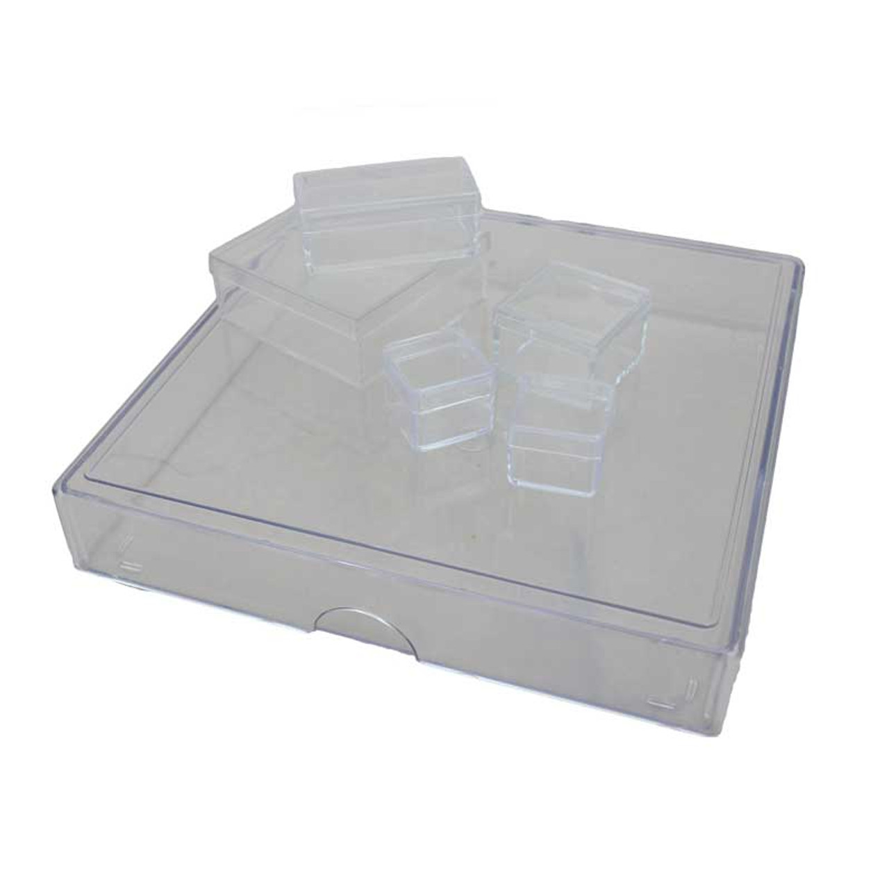 Clear Plastic Boxes Small Bench And Accessories Esslinger Co