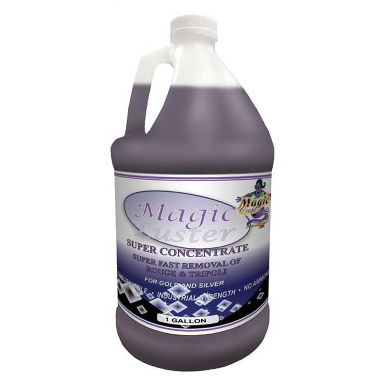 Magic Luster Ultrasonic Cleaning Solution Concentrate 1 Gallon