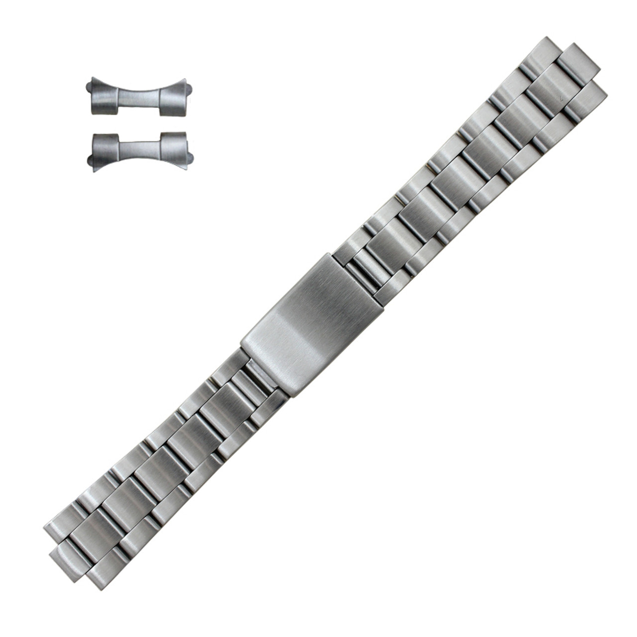 Generic Rolex® Band Bracelets Gents 20mm Stainless Steel Oyster 6 1/4 Inch  Length