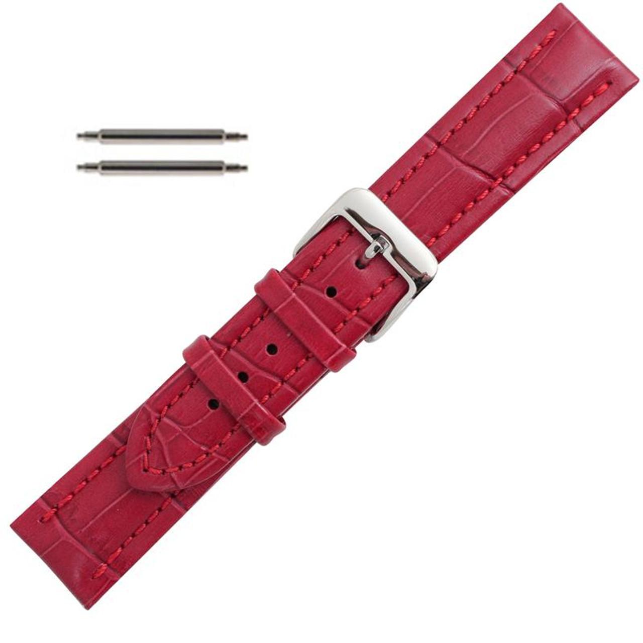 24mm Watch Band Genuine Leather Straps Watch Accessories Watchbands Enhancing Uhrenarmbänder
