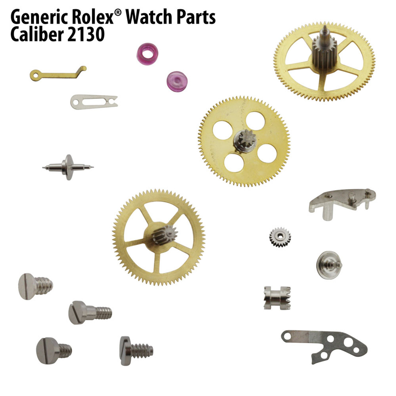 Generic Rolex® Watch Parts For Cal. 2130