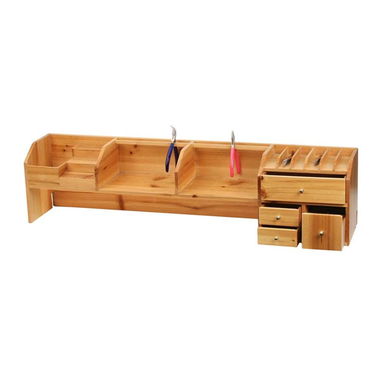 Fabulous Work Bench Jewelry Tool Organizer Bench Shelf Dailytribune Chair Design For Home Dailytribuneorg