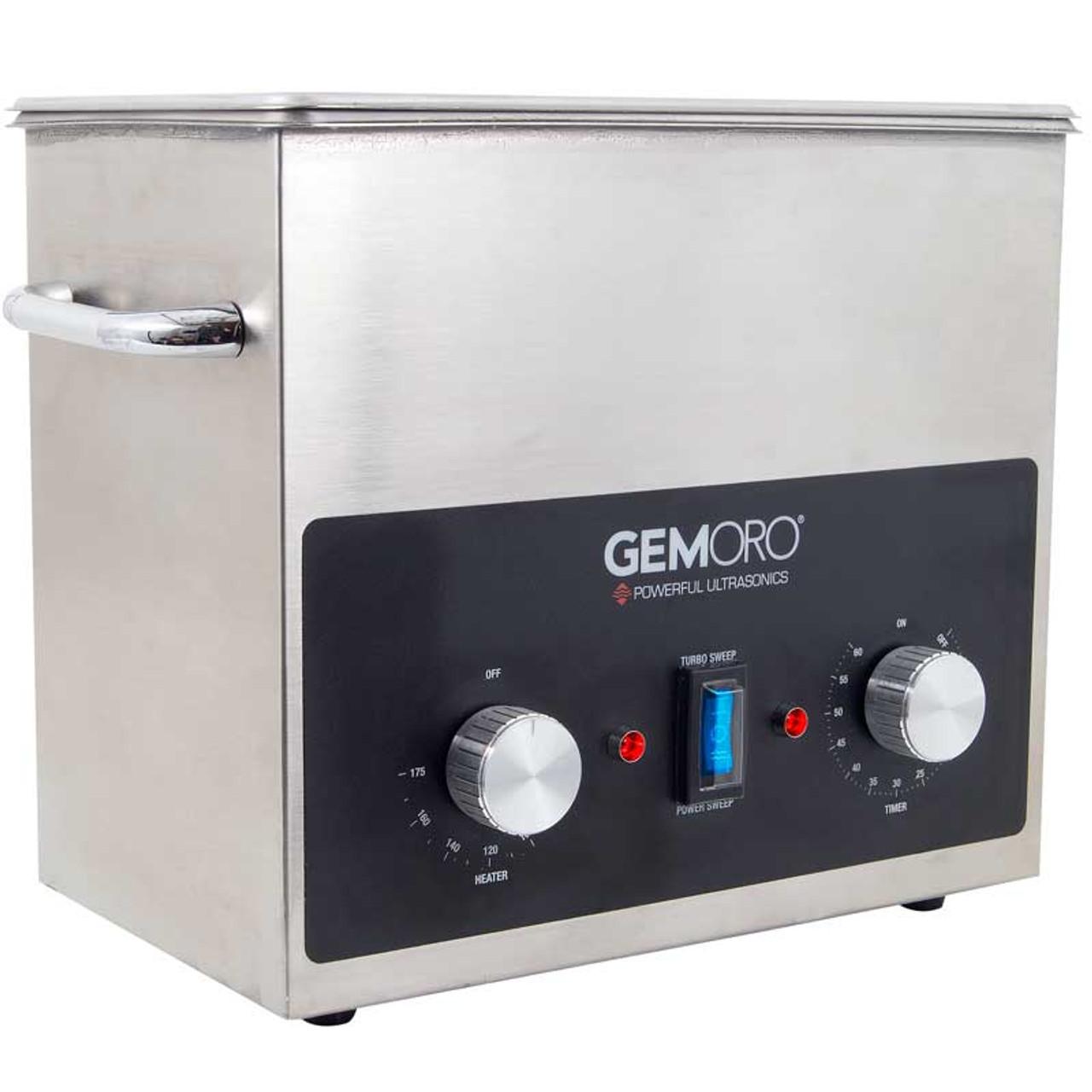 Gemoro Next Generation Ultrasonic Cleaner 3 Quart