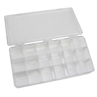 ... Styrene Storage Box 18 Compartments For Jewelry And Watch Parts ...