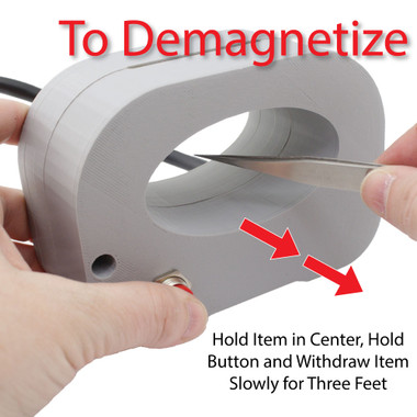 Heavy Duty Demagnetizer and Magnetizer Combination