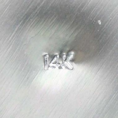 14K Stamp Metal Karat Marking Punch 1mm